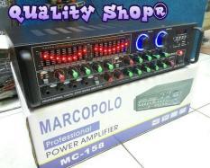 ORIGINAL  Amplifier karaoke/power mixer 4 Channel Marcopolo mc-158 (600 watt)