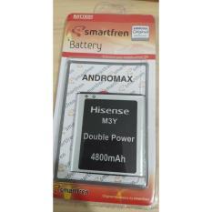 Original Baterai Batre Battery Batery Batere Batrei Batrai Modem Wifi Mifi Andromax Smartfren M3Y M3Z M3S . H15418 . DC003