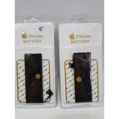 Original Baterai Batt Batre Battery Apple Iphone 5 dan 5G Bagus Foto Asli