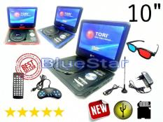 ORIGINAL  DVD Portable LED TORI 10 inch ( USB - SD Card - TV Tuner