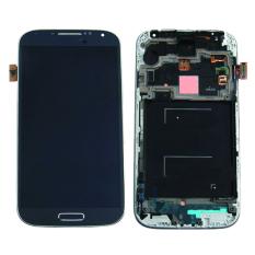 Asli untuk Samsung Galaxy S4 I9500 LCD Tampilan + Layar Sentuh Digitizer dengan Bingkai Hitam-Internasional