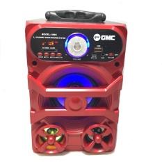 (Original) GMC Speaker Portable Radio,SD/USB Music Player,karaoke, 898C - Random