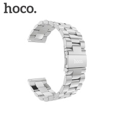 Original HOCO Stainless Steel Watch Band for Huami AMAZFIT Sports Smart Watch Replacement Bracelet Strap 22mm - intl
