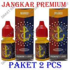 Original Jangkar E-Liquid Premium Rokok Elektrik - Mango 2 Pcs