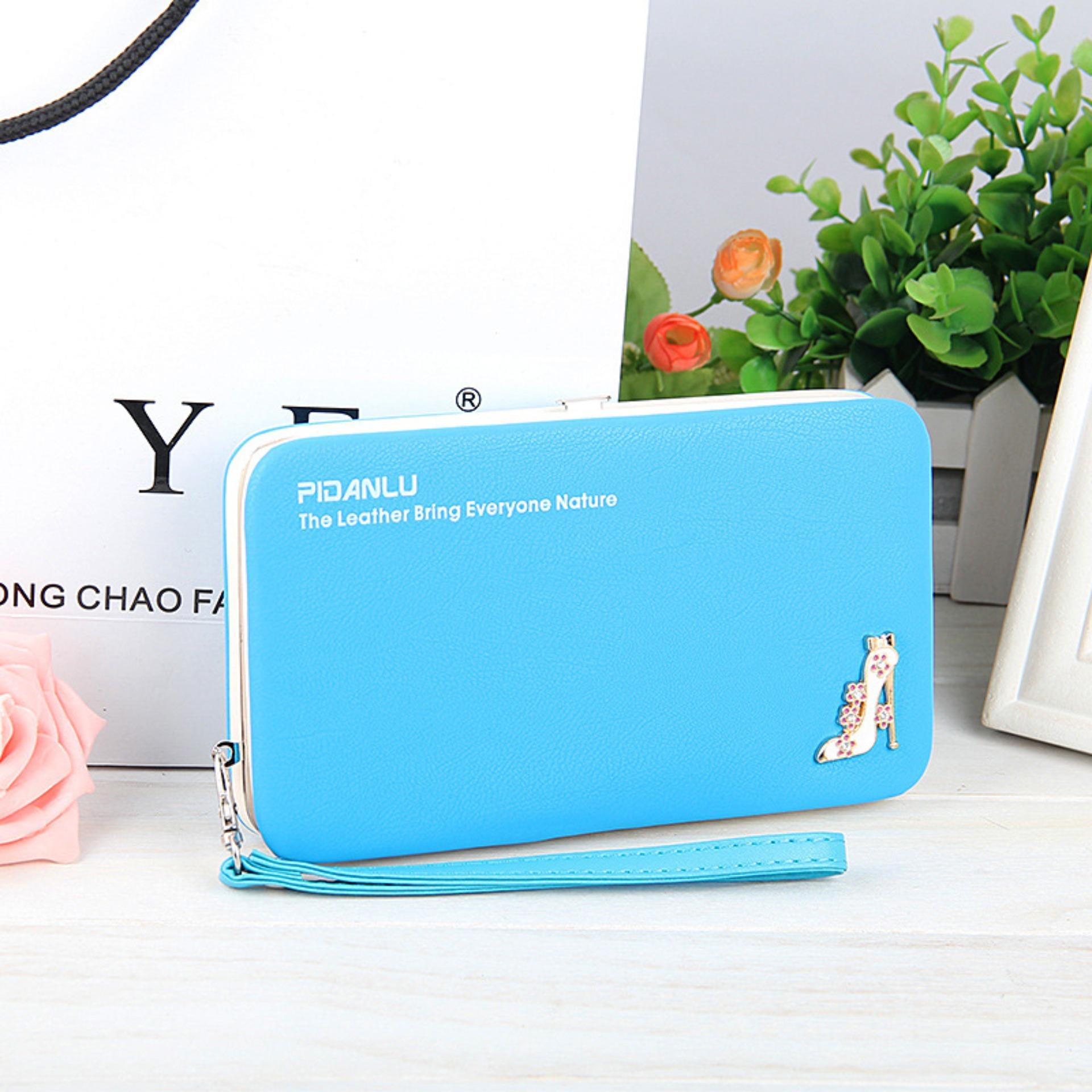 Original Korean Smart Wallet Dompet Cantik Import Panjang Wanita Atdiva