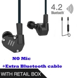 Asli Kz Zs6 Earbud 2Dd 2Ba Hybrid Earphone Hi Fi In Ear Metal Headphone Dj Monitor Headset Earphone Tanpa Mcrophone Blueteeth Kabel Untuk Ponsel Pk Zs5 Zst Intl Tiongkok Diskon
