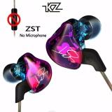 Jual Beli Asli Kz Zst Armature Dual Driver Earphone Kabel Dilepas Di Ear Monitor Audio Isolasi Hifi Musik Olahraga Earbud Tiongkok