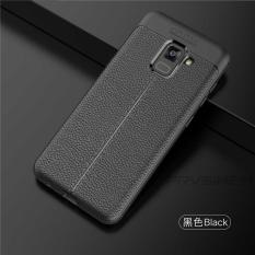 Original Lazada Case Auto Focus For Samsung Galaxy A8 2018 - Hitam