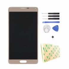 Original LCD Display Layar Sentuh Digitizer Full Assembly Penggantian Bagian untuk Samsung Galaxy Note 4 N910 N910 N910A N910T- INTL