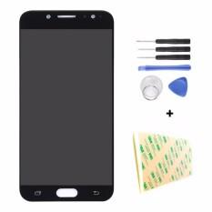 Original LCD Display Layar Sentuh Panel dengan Digitizer Penggantian Kaca Bagian untuk Samsung Galaxy C7 2017 C710F/DS C7100 C8 J7 +-Intl