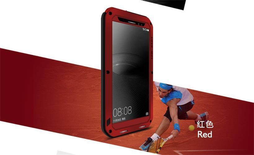 Asli Cinta Mei Mewah Anti Guncangan Logam Aluminium Bingkai Silikon Ponsel Case S untuk Samsung Galaksi Note 8 Case Sarung
