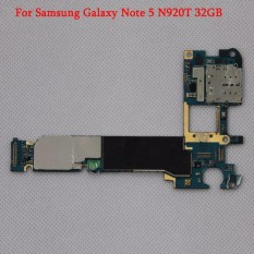 Asli Papan Utama Mother Board Mainboard Motherboard untuk Samsung Galaxy Note 5 N920T-Intl