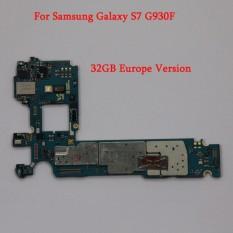 Papan Utama Asli Mother Board Mainboard Motherboard untuk Samsung Galaxy S7 G930F 32 GB-Intl