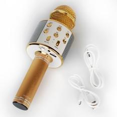Original Mic Microphone SMULE WS-858 KARAOKE Mikropon Speaker Karaoke Di HP