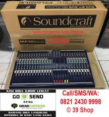 ORIGINAL  Mixer Audio SOUNDCRAFT MPM 24/4 (24 Channel) Grade A Sound Mixer