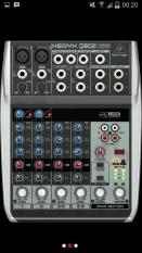ORIGINAL  Mixer Behringer XENYX Q 802 USB ( 6 channel )