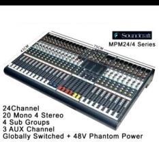 ORIGINAL  MIXER SOUNDCRAFT MPM 24/4 ( 24 Channel )