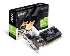 ORIGINAL - MSI Geforce GT 710 2GB DDR5 LP