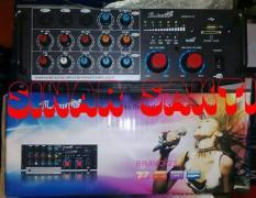 ORIGINAL  Murah Amplifier Karaoke Mixer SLaudio Bravo 23 ( USB,SD,Radio FM )
