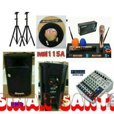 ORIGINAL  Murah Paket Sound System BMB + Mixer Soundcraft ( 8 channel )