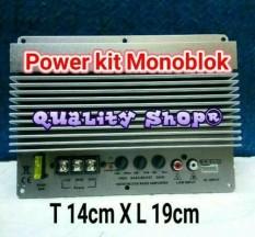 ORIGINAL  Power kit monoblok subwoofer Mobil Class D untuk Speaker 8/10/12 inch