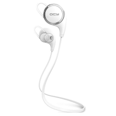Spesifikasi Original Qcy Qy8 Wireless Bluetooth With Microphone White Intl Yg Baik
