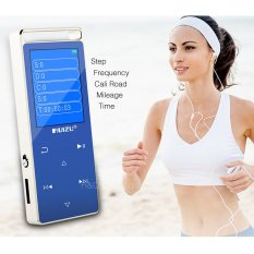 Asli RUIZU D01 MP4 Player 8g Layar Touch Key Semua Aluminium Alloy Music Player Speaker Video Pedo Meter Perekam E-Book Video-Intl