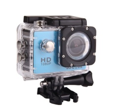 Asli SJCAM SJ4000 Helm Action Sports Cam 30 M Underwater Waterproof FHD 1080 P Video Helmetcam Kamera Sport DV