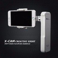 Smartphone Asli Gimbal X-CAM Ⅱ Handheld Stabilizer untuk Smartphone Termasuk IPhone7/7 Plus/Samsung/Galaxy dan Masih Banyak Lagi (kurang dari atau Sama dengan 5.5in), 2 Axis Lipat Gimbal Phone Gimbal atau IPhone Gimbal (Impor)-Intl