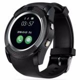 Spesifikasi Asli Olahraga Jam Tangan Full Screen Smart Watch V8 Untuk Android Pertandingan Smartphone Penopang Tf Sim Kartu Bluetooth Smartwatch Pk Gt08 U8 Intl Oem Terbaru