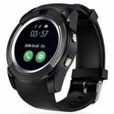 Toko Asli Olahraga Jam Tangan Full Screen Smart Watch V8 Untuk Android Pertandingan Smartphone Penopang Tf Sim Kartu Bluetooth Smartwatch Pk Gt08 U8 Intl Online Terpercaya