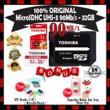 Diskon Produk Original Toshiba Micro Sdhc 32Gb 90 Mb S Class 10 Uhs 3 Gratis Otg Card Reader 2 In 1 Microsd Sdcard Socket Mobile Popsocket Anti Drop Phone Grip