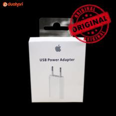 ORIGINAL USB POWER Adapter Charger Iphone 5 6 6s 7 7 Plus 7+ Kepala Charger Casan