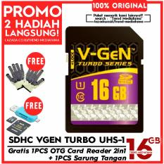 Jual Original V Gen Sd Card 16Gb Class 10 Turbo Series Free Otg Card Reader Micro Sd Sdhc Sarung Tangan Anti Panas Vgen Online