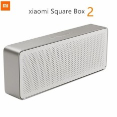 Obral Original Xiaomi Mi Bluetooth Speaker Square Box 2 Stereo Portable Bluetooth 4 2 High Definition Sound Quality 10Hours Play Music With Aux Murah