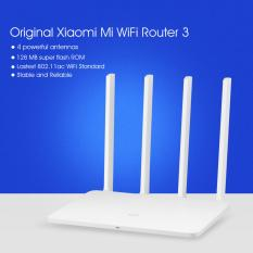Harga Asli Xiaomi Mi Wifi Router 3 128 Mb Rom 1167 Mbps 2 4 5 Ghz With 4 Antena Putih Yg Bagus