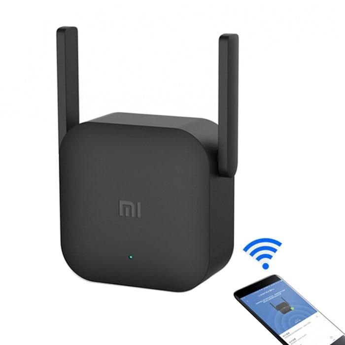 Toko Original Xiaomi Wifi Amplifier Pro 300Mbps Wifi Smart Extender Router With 2X2 External Antennas Black Intl Sunsky