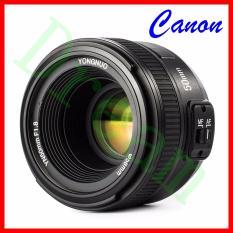 YONGNUO Asli YN50mm F1.8 Lensa Bingkai Standar Lensa Bukaan Standar Bukaan Depan For Kamera DSLR EOS 60D 70D 5D2 5D3 7D2 750D 650D
