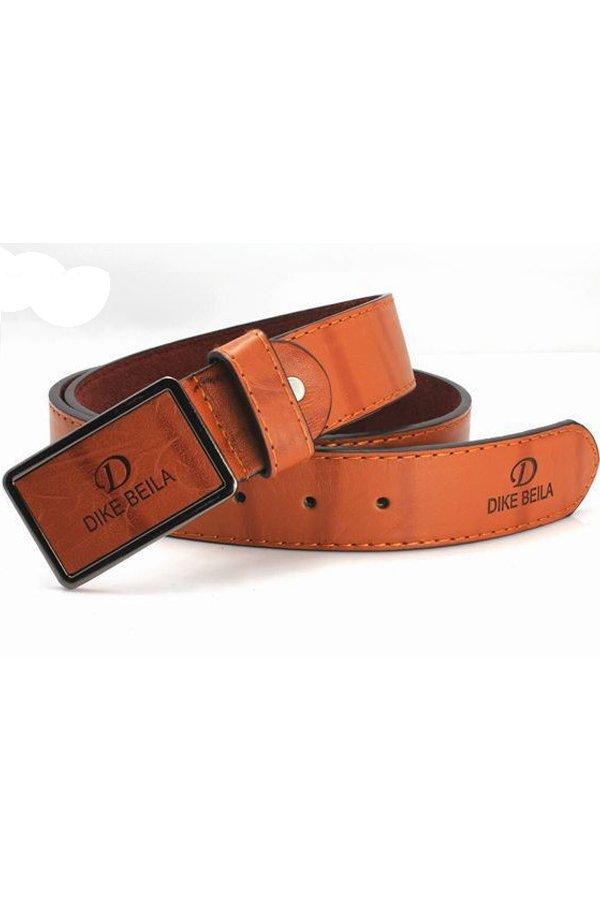 Beli Ormano Fashion Tali Pinggang Pria Db Casual Belt Cokelat
