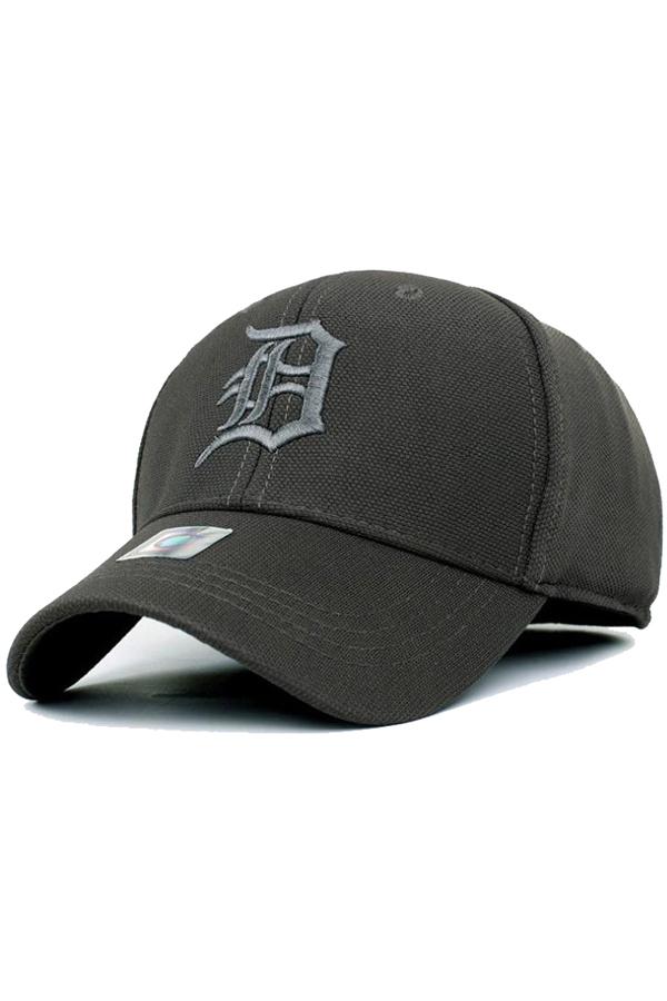 Beli Ormano Topi Baseball Snapback Cap Letter D Hijau Navy Dengan Kartu Kredit