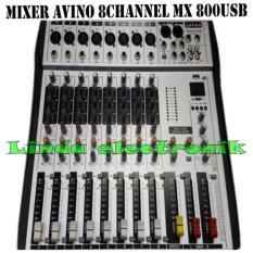 Oryginal murah Mixer audio avino MX800 USB 8channel MONO