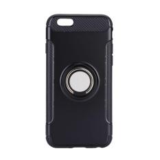 Oscar Menyimpan Ponsel Terbaru Teknologi Kapal Gratis Carbon Fiber Wein Kasus Cover Kulit Shell untuk IPhone6 6 S dengan 360 ° Rotating Ring-Intl
