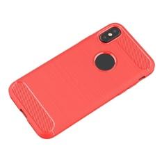 Oscar Menyimpan Ponsel Terbaru Teknologi Kapal Gratis Ponsel Shell Kasus Pelindung Carbon Fiber TPU Lembut untuk IPhone [x]-Intl