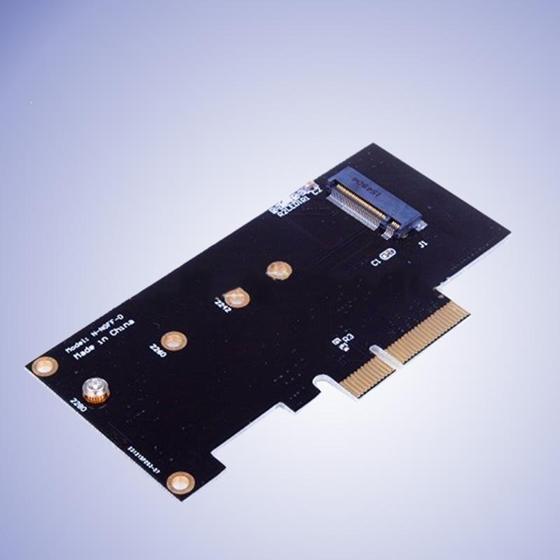 Oscar Toko M Key M.2 NG SSD Ke PCI-E X4 Slot Kartu Adaptor untuk 2280 2230 2242 2260-Internasional