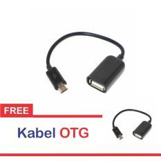 OTG Cable Connect Kit Android + Gratis Kabel OTG