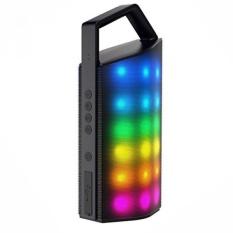 OUCOMI Loud Outdoor Bluetooth Speaker dengan LED Dinamis Lampu-Intl