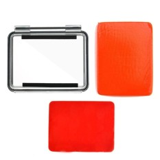 ouhofus Brand New FLOAT Floaty Backdoor For GoPro HD 3+/4 Camera(Clear and Orange) - intl
