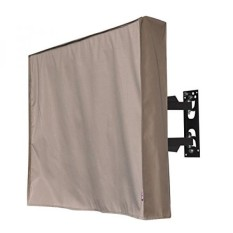 Outdoor 72TV Cover, Brown Weatherproof Universal Protector for 72 LCD, LED, Plasma Television Sets - Compatible with Standard Mounts and Stands. Built In Remote Controller Storage Pocket - intl