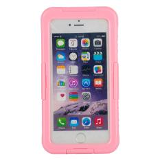 Outdoor Yg Tahan Terhadap Pukulan Case Telepon Tahan Air untuk IPhone 6 S Plus/7 Plus (berwarna Merah Muda) -Internasional