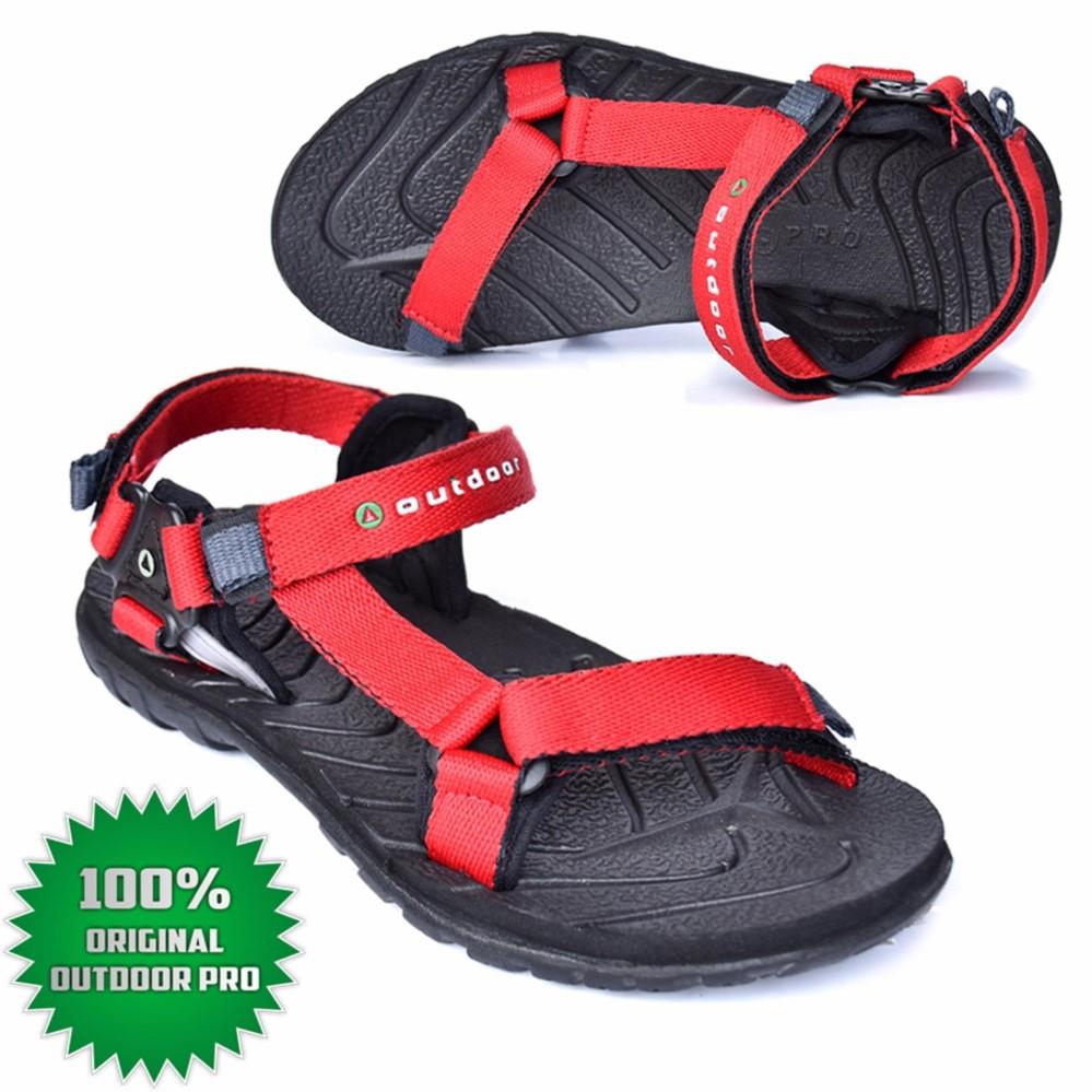 Outdoor Pro Sandal Gunung Neeladri Red Sandal Outdoor Pro Sandal Wanita